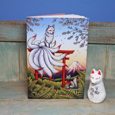 Kitsune Illustration Notebook