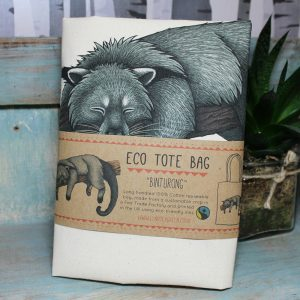 Binturong Tote Bag ~ 100% Organic & Fairtrade Cotton