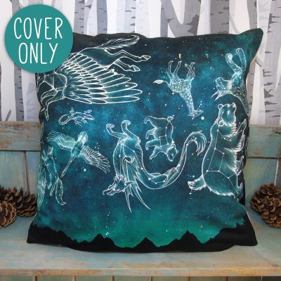 Midnight Menagerie Cushion Cover