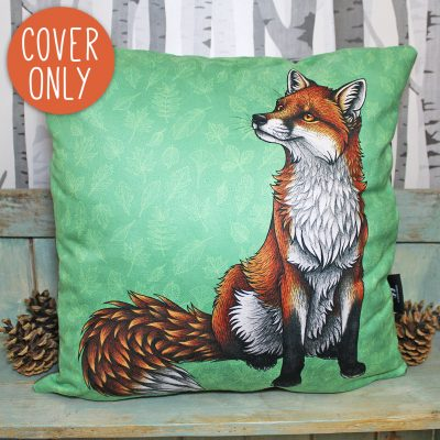 Red Fox Cushion Cover