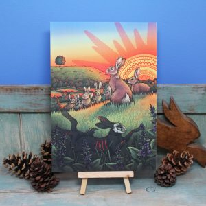 Watership Down Illustration – A4 Print