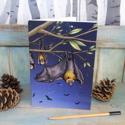 Rodrigues Fruit Bats Illustration Notebook