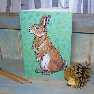 Rabbit Illustration Notebook