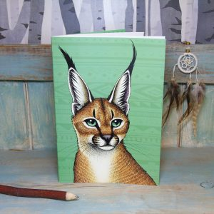 Caracal Illustration Notebook