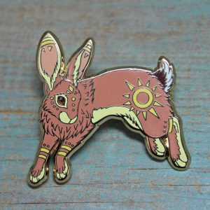 The Black Rabbit of Inlé, El-ahrairah & Hazel & Fiver ~ Set of 3 Pins