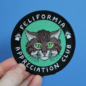 Feliformia Appreciation Club Iron On Patch