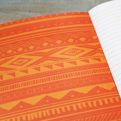 Rothschild's Giraffe Illustration Notebook