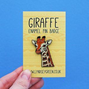 Rothschild's Giraffe Soft Enamel Pin