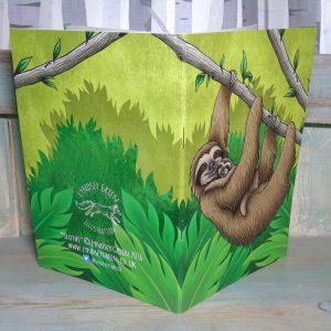 Sloths Illustration Notebook