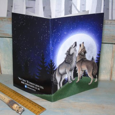 Wolf Song Illustration Notebook