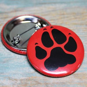 Paw Print Badge