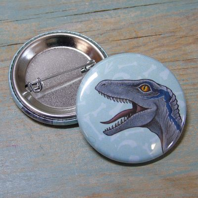 Raptor Illustration Badge