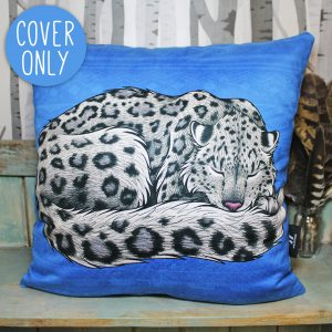 Snow Leopard Cushion Cover