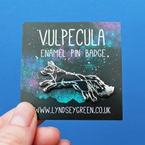 Vulpecula Hard Enamel Pin