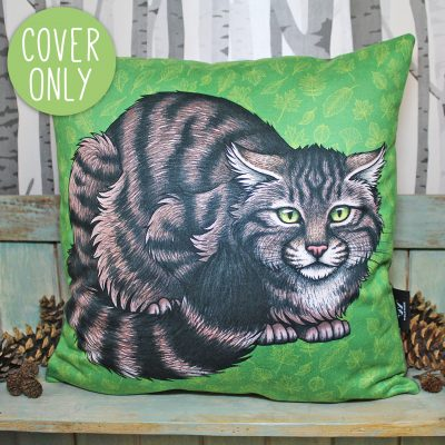 Scottish Wildcat Cushion Cover