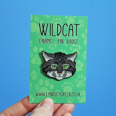 Scottish Wildcat Soft Enamel Pin