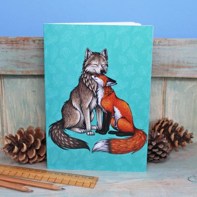 Wolf & Fox Illustration Notebook