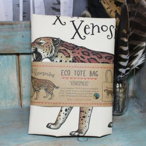 Xenosmilus Tote Bag ~ 100% Organic & Fairtrade Cotton