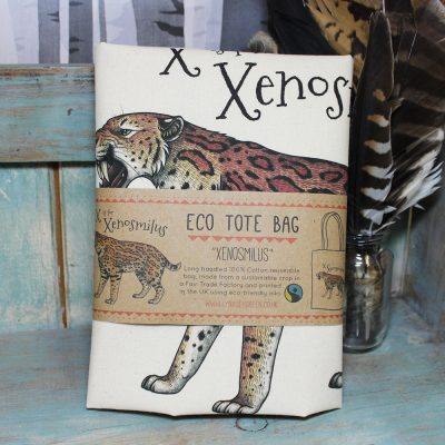 Xenosmilus Tote Bag ~ 100% Organic & Fairtrade Cotton