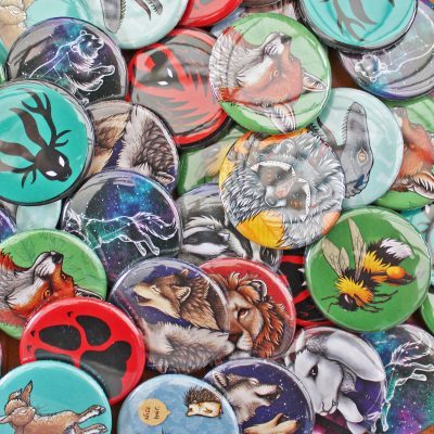 6 Badges for £5 Offer