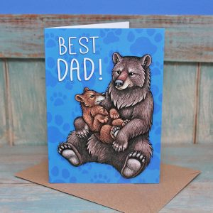 Best Dad Bears Card