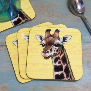 Single (x1) Rothschild's Giraffe Coaster