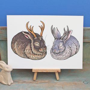 Jackaloafs Illustration – A4 Print