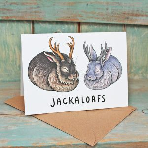 Jackaloafs Greeting Card