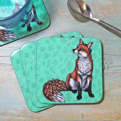 Single (x1) Red Fox Coaster
