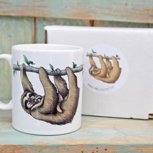 Three-Toed Sloths Mug