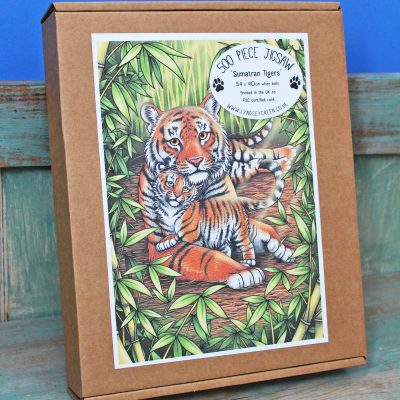 Sumatran Tigers 500 Piece Jigsaw