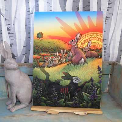Watership Down Illustration – A3 Giclée Print