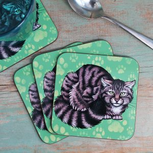 Single (x1) Scottish Wildcat Coaster