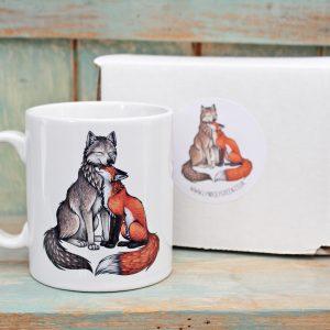 Wolf & Fox Mug