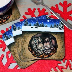 Single (x1) Christmas in the Burrow Coaster